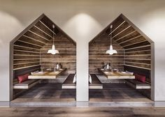 Restaurant Booth Interior Design