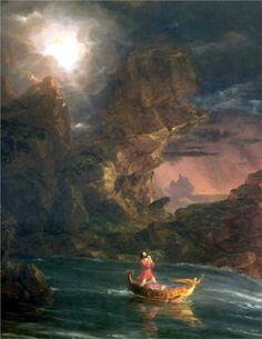 Thomas Cole – El viaje de la Vida (Edad adulta) – wikipaintings.org