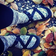 chacos and socks all fall #dontmindifido