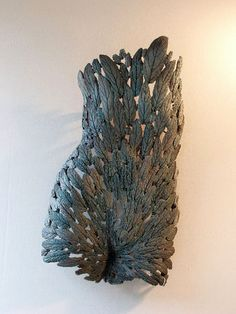 Ceramics by Barry Guppy (1937-2013) at Studiopottery.co.uk - 2010. Manice - Viburnium Leaves.