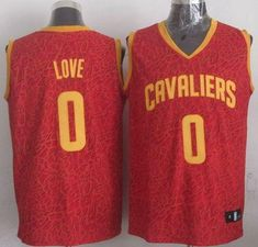 7c7c8636da1 Cavaliers  0 Kevin Love Red Crazy Light Stitched NBA Jersey Retro Nba  Jerseys