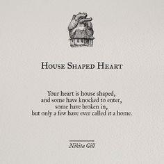 Hpuse-shaped Heart