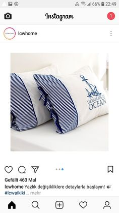 Bed Pillows, Pillow Cases, Home, House, Ad Home, Homes, Haus
