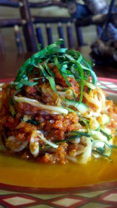 Zucchini Italiano Pasta! Gluten Free, Vegan, Specific Carb Diet SCD!   glutenfreehappytummy