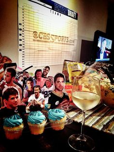 86 Best Fantasy Football Draft Party Images In 2016 Football