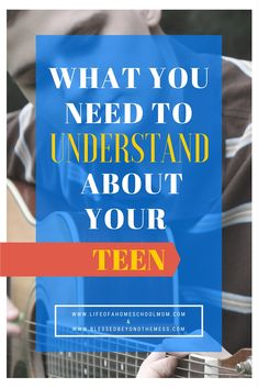 Top 5 areas you need to understand about your teen to help him develop into the person God wants him to be and live out the unique purpose intended for him.
