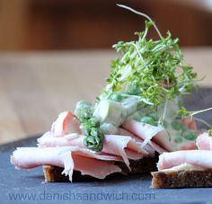 Danish Open Sandwiches (Smørrebrød).  Danishsandwich.com...great website!