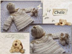 Superb Lace & Entredeux Christening Layette with Angora accents. ~ El Rincón de Chelo by Chelo Borges