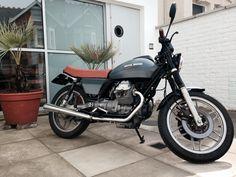 Moto Guzzi V50 Custom (Untitled Motorcycles)