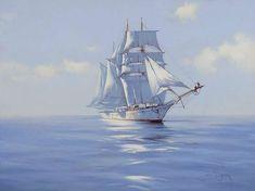 Мечтая о морском просторе, не спится в тихой бухте кораблю...| James Bretton. Обсуждение на LiveInternet - Российский Сервис Онлайн-Дневников