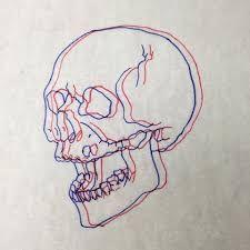 Resultado de imagen para 3d tattoo red blue