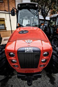 Photo of a SAME tractor. Taken at Feria Agricola 2016 Jumilla (Murcia) Spain.