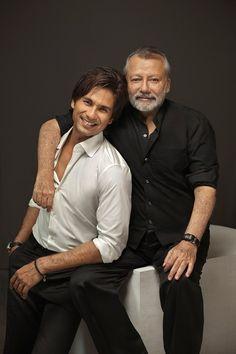 Shahid Kapoor and father Pankaj Kapur
