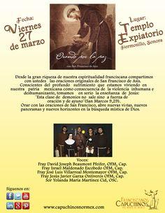 """¡Amigos de Herrmosillo! ¡Los esperamos este viernes en la presentación del CD: """"Orando por la paz""""!"""