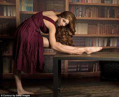 Jenna Thiam red haired goddess