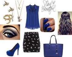 """""""I'm Blue"""" by fashionguru25 ❤ liked on Polyvore"""