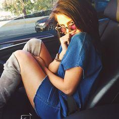 Spotted: birthday babe Selena Gomez in the Nori dress. #myaritzia