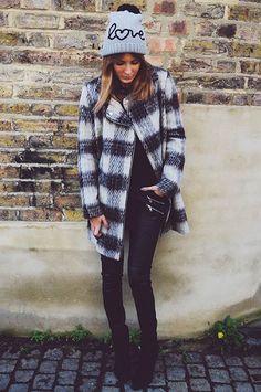 Style Diary milly mackintosh cute tartan coat