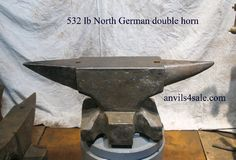 Classic Hand forged German double horned anvils