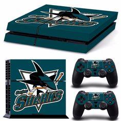 San Jose Sharks NHL PS4 Skin