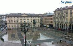 Live Cam #Turin - Bodoni Square. #Torino #Italy #Travel #Livecam