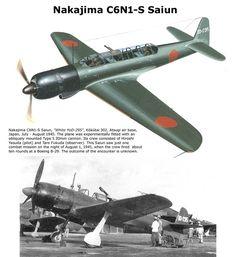 Nakajima C6N1-S Saiun