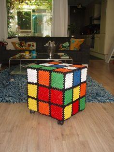 croched Rubik's Cube
