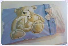 Bolsa para guardar la manta personalizada para tu bebe de ft bordados