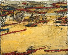 Frank Auerbach Primrose Hill, Spring Sunshine 1961–2/64 Oil on board, 1125mm x 1400mm © Frank Auerbach, courtesy Scottish National Gallery of Modern Art, Edinburgh