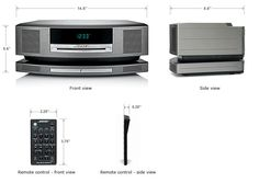 Wave SoundTouch music system dimensions