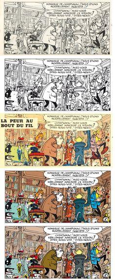 Opinion you comic strip art restoration