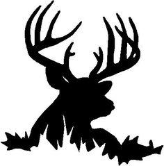 Deer Hunting Logos | Deer head | Silhouette | Pinterest | Deer ...