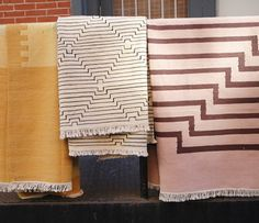 Aelfie rugs (new designs for kilims as well as older rugs and overdying), Brooklyn, NY. // D*S