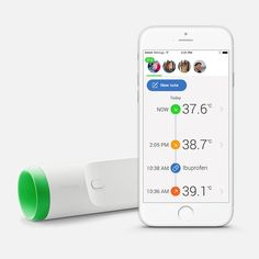 Here's How All the Cool Parents Will Be Measuring Their Kids' Temps in the Future   Brit + Co