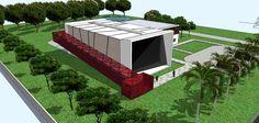 Projeto de Indústria Metalúrgica para o Distrito Industrial de Santa Maria - RS.