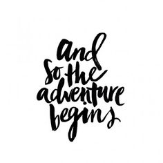 NEXT? | TheyAllHateUs #Quote And so the adventure begins