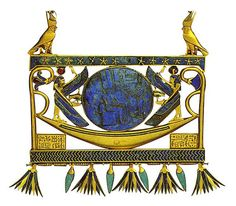 Pectoral Of Sheshonq II , Tombs of Tanis by sergiothirteen,