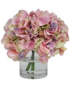 """You need to see this """"Hydrangeas in Water"""" 10in Floral with Vase on Rue La La.  Get in and shop (quickly!): https://www.ruelala.com/boutique/product/101194/31331104?inv=kprogar&aid=6191"""