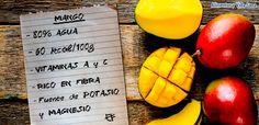 Beneficios y propiedades del mango - España Fascinante