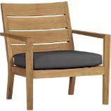 Regatta Lounge Chair with Sunbrella® Charcoal Cushion