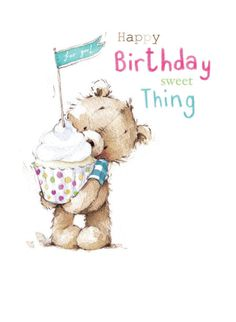 Lizzie Walkley - Bear_cake_card