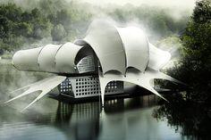 The House that looks like a Shell