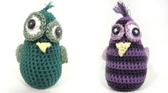 Crocheted owls :)