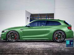BMW M2 Shootingbrake render