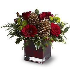 xmas bouquets - Google Search