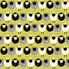 itty bitty lamb love fabric by pattyryboltdesigns on Spoonflower - custom fabric