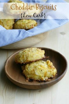 Low Carb Cheddar Biscuits - The Fit Housewife