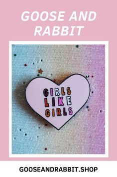 Grab this Hayley Kiyoko Girls Like Girls lesbian enamel pin. Click through to view more LGBT enamel pins. Lesbian Gifts, Perfect Mother's Day Gift, Etsy Business, Etsy Crafts, Some Fun, Pin Collection, Customized Gifts, Lgbt, Best Gifts