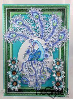 Heartfelt Creations | Peacock Fantasy