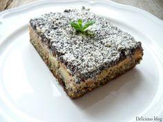 Delicious blog: Jablkovo-makový koláč se sněhem Banana Bread, Paleo, Food And Drink, Cooking, Sweet, Blog, Diet, Kochen, Blogging